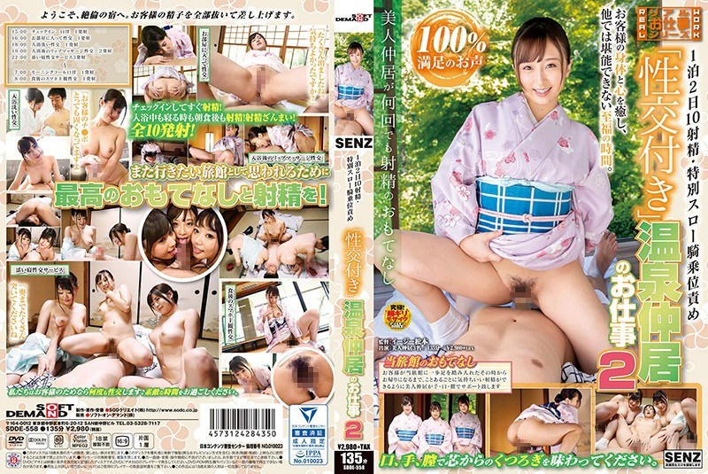"""SDDE-558 1 Night 2 Days 10 Ejaculation · Special Throws Squirrel Rape Action """"with Sexual Intercourse"""" Hot Spring Nakai Work 2"""