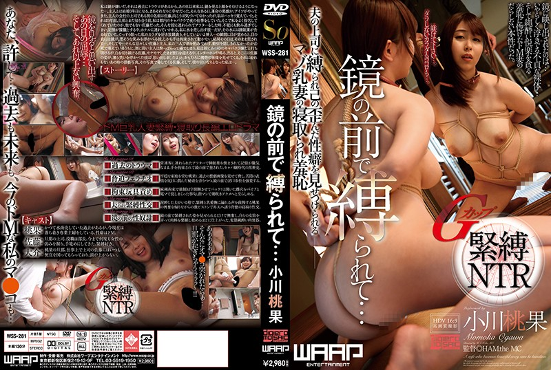 WSS-281 Tied In Front Of The Mirror … Ogawa Momohate