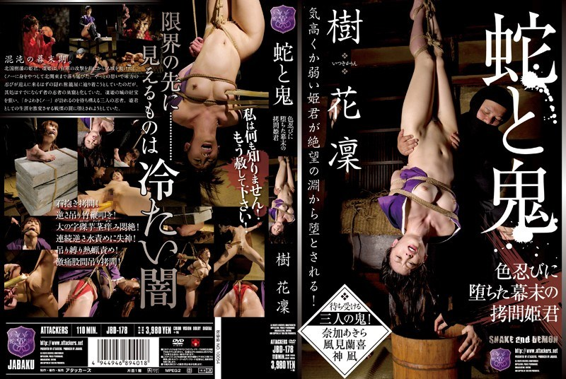 JBD-178 Torture Princess Kihana凜 End Of The Edo Period, Which Fell In Color Shinobi Demon And Snake