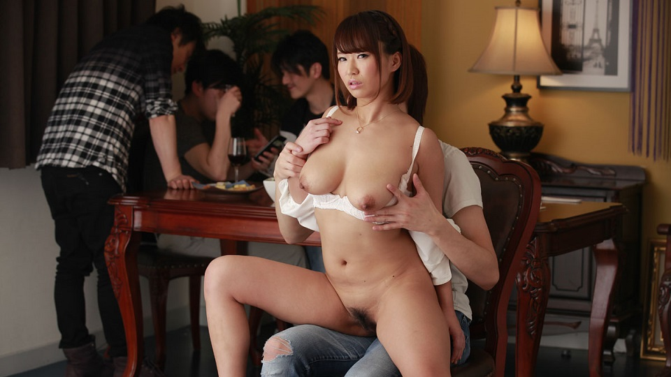Carib 052220-001 Okamoto Riina Orgy NTR At A Drinking Party
